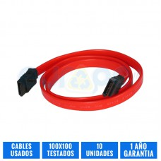 PACK 10 CABLES SATA PC
