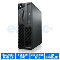 LENOVO THINKCENTRE M90P SFF G6950 8 GB DDR3