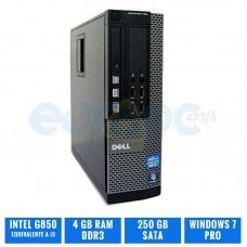 DELL OPTIPLEX 390 SFF G850 4 GB DDR3