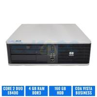 LOTE 3 HP DC7900 SFF C2D E8400 4 GB RAM 160 GB HDD