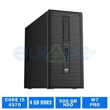 HP ELITEDESK 800 G1 TWR CORE I5 4570 4 GB de DDR3