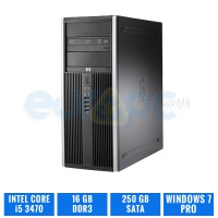 HP ELITE 8300 CMT CI5 3470 16 GB DDR3