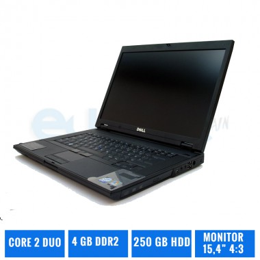 DELL LATITUDE E5500  C2DUO 4 GB DDR2 160 GB HDD