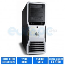 DELL PRECISION T7400  X5460 (X2) 12 GB DDR3 QUADRO FX3700