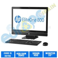 HP ELITEONE  800 G1 CI5 4670S 4GB RAM AIO