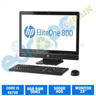 HP ELITEONE  800 G1 CI5 4670S 8GB RAM AIO