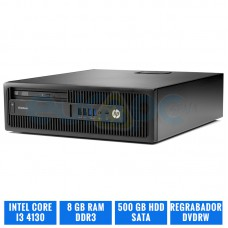 HP ELITEDESK 800 G1 SFF CI3 4130 8 GB DDR3