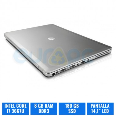 HP ELITEBOOK FOLIO 9470M CI7 3667U 8 GB DDR3
