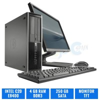 HP ELITE 8000 SFF C2D E8400 4 GB DDR3 TFT
