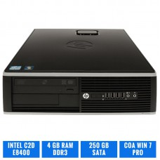 HP ELITE 8000 SFF C2D E8400 4 GB DDR3