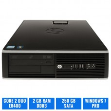 LOTE 15 HP ELITE 8000 SFF C2D E8400 2 GB DDR3