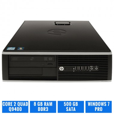 HP ELITE 8000 SFF C2Q Q9400 8 GB DDR3