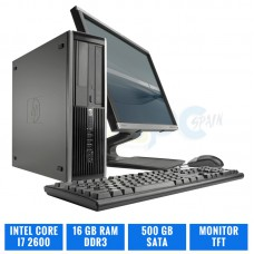HP ELITE 8200 SFF CI7 2600 16 GB DDR3 TFT