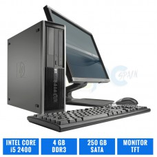 "LOTE 10 HP ELITE 8200 SFF CI5 2400 4 GB DDR3 TFT 19"" 4:3"