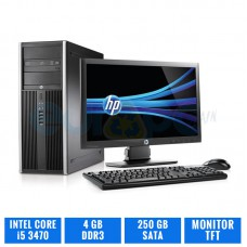 "LOTE 10 HP ELITE 8300 CMT CI5 3470 4 GB DDR3 TFT 19"" 4:3"