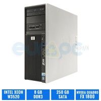 HP WORKSTATION Z400 W3520 8 GB DDR3 QUADRO FX1800