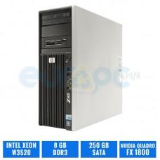 HP WORKSTATION Z400 W3520 8 GB DDR3 QUADRO FX1800
