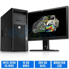 "HP WORKSTATION Z420 E5-1603 16 GB DDR3 TFT 20"" 16:9 HP"