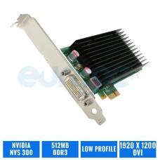 TARJETA GRAFICA NVIDIA QUADRO NVS 300 512 MB DDR3