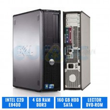 DELL OPTIPLEX 780 DESKTOP C2D E8400 4 GB DDR3 160 GB HDD