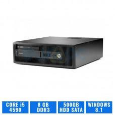 HP ELITEDESK 800 G1 SFF CORE I5 4590 8 GB de DDR3