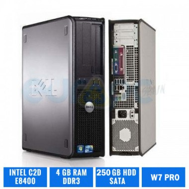 DELL OPTIPLEX 780 DESKTOP C2D E8400 4 GB DDR3 250GB HDD