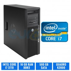 HP WORKSTATION Z220 CORE I7 3770 16 GB DDR3 QUADRO K2000