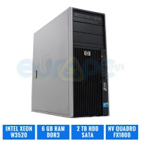 HP WORKSTATION Z400 W3520 6 GB DDR3 QUADRO FX1800
