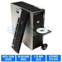 HP WORKSTATION Z600 E5620 16 GB DDR3 GEFORCE GTX295