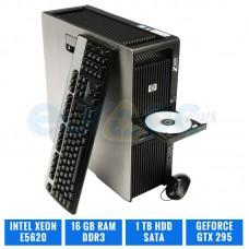 HP WORKSTATION Z600 E5620 16 GB DDR3 GEFORCE GTX295