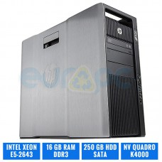 HP WORKSTATION Z820 E5-2643 16 GB DDR3 QUADRO K4000