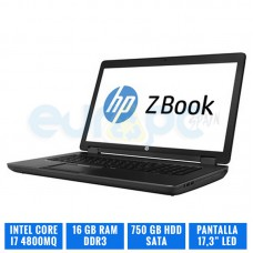 HP MOBILE WORKSTATION ZBOOK 17 CORE I7 4800MQ