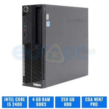 LENOVO THINKCENTRE M91P SFF CORE i5 2400 4 GB DDR3